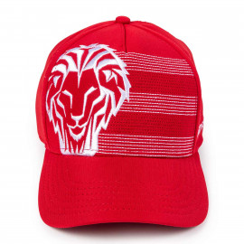 EMBROIDERED LION CAP