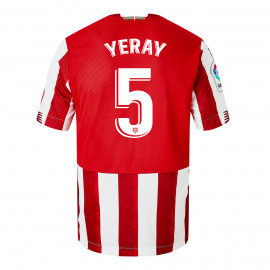 CAMISETA JUNIOR 1ª EQUIPACIÓN 20/21 YERAY