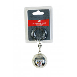 KEY-RING SILVER BALL EMBLEM