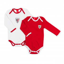 PAC OK 2 LONG SLEEVE ROMPER SUITS