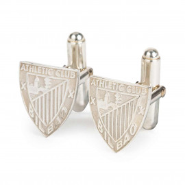 ATHLETIC SILVER CUFF LINK NON-VARNISHED