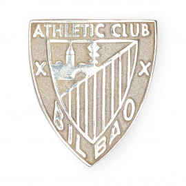ATHLETIC SILVER BADGE NON-VARNISHED