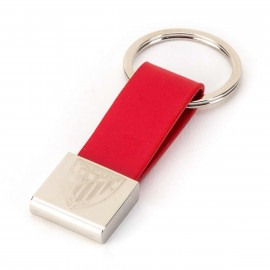 KEY-RING 61113 LEATHER EMBLEM