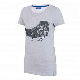 Camiseta bota mujer OCM - One Club Man (Gris)