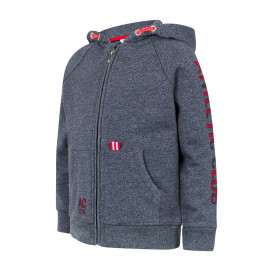 BABY HOODED JACKET ATHLETIC CLUB