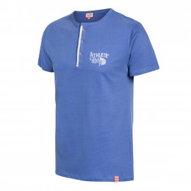 ATHLETIC RETRO HENLEY SHIRT