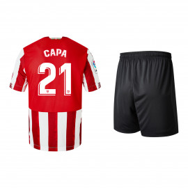 KIT JUNIOR 1ª EQUIPACIÓN 20/21 CAPA