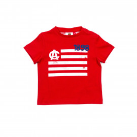 BABY SHORT SLEEVE SHIRT FLAG