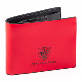 AMERICAN CARD HOLDER SMOOTH LEATHER RED