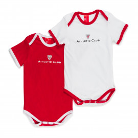 PAC OK 2 SHORT SLEEVE ROMPER SUITS