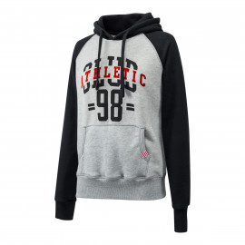 SWEAT CAPUCHE BICOLORE WOMAN