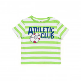 BABY SHORT SLEEVE SHIRT NAVY WHITE BALL