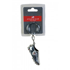 KEY-RING BOOT SILVER EMBLEM