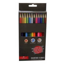 12 COLORS PENCILS