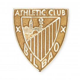 NON-ENAMELLED GOLD ATHLETIC PIN
