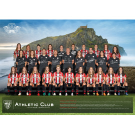 POSTER WITH THE SEASON'S FIXTURES (WOMEN'S TEAM)