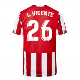 ATHLETIC CLUB WOMEN'S HOME SHIRT 20/21 I.VICENTE