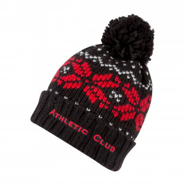 CHRISTMAS POMPOM HAT ADULT