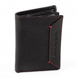 VERTICAL CARD HOLDER RED THREAD