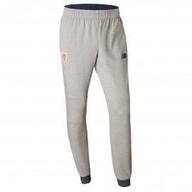 GREY PLUSH LONG TROUSERS