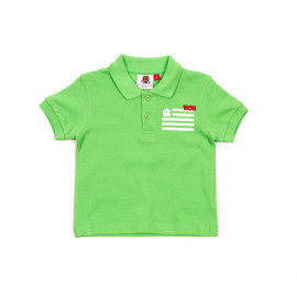 BABY SHORT SLEEVE POLO SHIRT FLAG