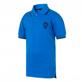 SHORT-SLEEVED LION POLO SHIRT