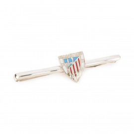 SILVER VARNISHED ATHLETIC TIE PIN