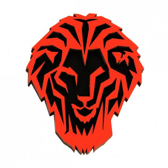 MAGNET LION WOOD