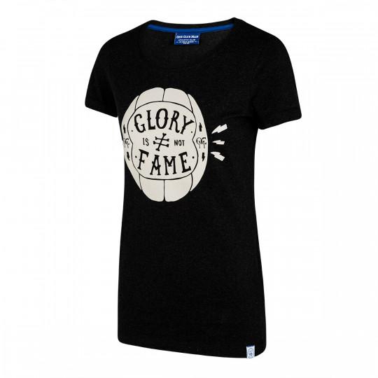 Camiseta balón mujer OCM - One Club Man (Negra)