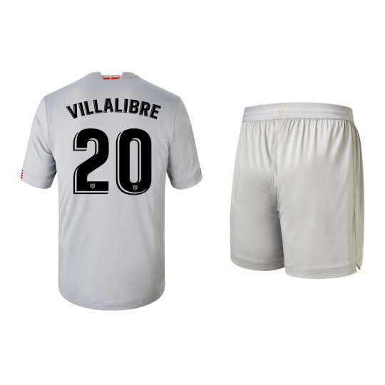 ATHLETIC CLUB JUNIOR AWAY KIT 20/21 VILLALIBRE