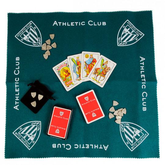 DECK OF CARDS AND RUG FOURNIER EMBLEM