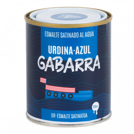 PEINTURE BLEUE GABARRA