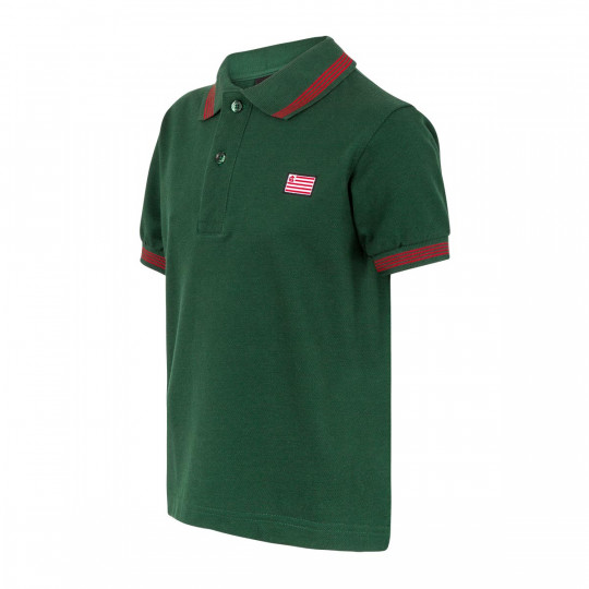 JUNIOR SHORT SLEEVE POLO SHIRT FLAG