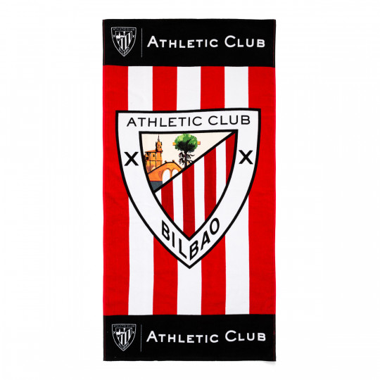 STRIPED TOWEL WITH CREST